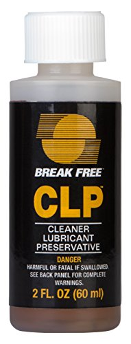 Break-Free, Model: CLP-20 Cleaner Lubricant Preservative (2-Fluid Ounce Bottle) (Free Droppers)