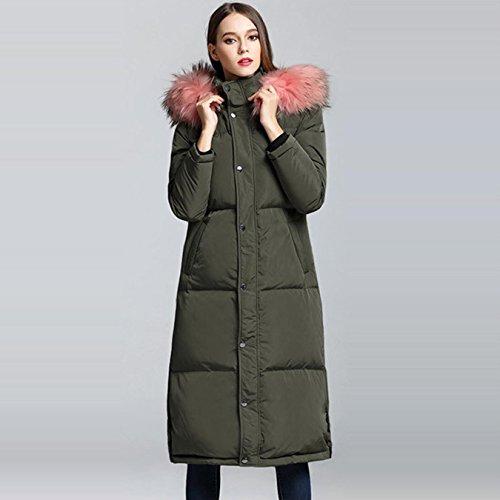 HOIJHD Camperas Mujer Abrigo pluma Women Winter Thick Long Down Jacket Coat at Amazon Womens Coats Shop