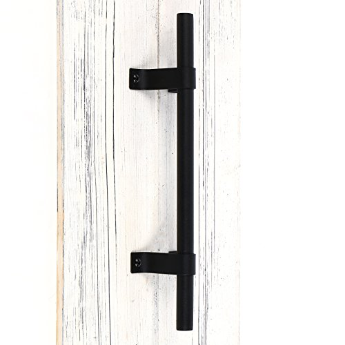 "SMARTSTANDARD 12"" Heavy Duty Barn Door Long Pull Handle for Gate Kitchen Furniture Cabinet Closet Drawer"