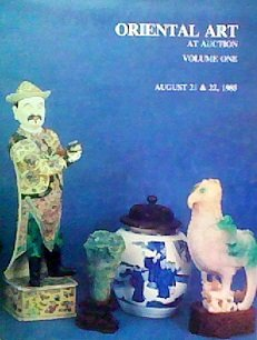 Oriental Lacquer - Oriental Art At Auction: Volume One (August 21 & 22, 1985)