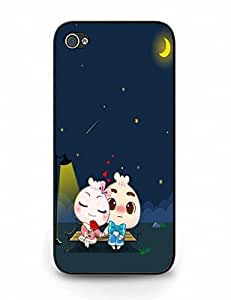 Cute Love Theme Phone Cover for iPhone 5 5S
