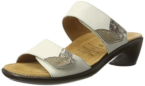Ganter Gemma-g Ciabatte Donna Bianco weiss multi