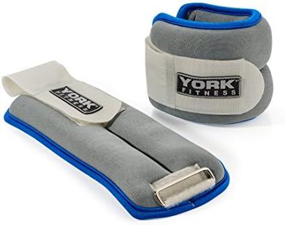 York Fitness Gewichtsmanschetten Soft Ankle/Wrist Weights, 60026