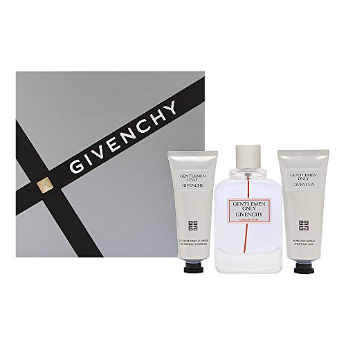 Gentlemen Only Casual Chic By Givenchy Edt Spray 3.3 Oz & Aftershave Balm 2.5 Oz & Shower Gel 2.5 Oz - Givenchy Body Spray