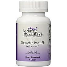 Bariatric Advantage Chewable Iron Passion Fruit -- 90 Tablets