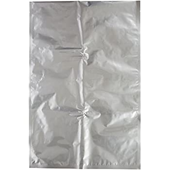 "(10) Mylar Bags 10- 20""x30"" 5 Gallon Size 4.5 Mil for Long Term Emergency Food Storage Supply"