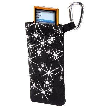 Hama Tasche Stars Schutzh/ülle Etui f/ür MP3 Player Stick Apple iPod Nano 7G 6G 5G 4G Creative Intenso Philips Sony Walkman etc