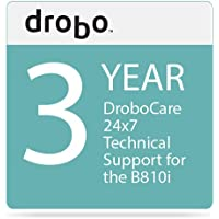 Drobo 3-Year DroboCare for Drobo B810i Storage Enclosure