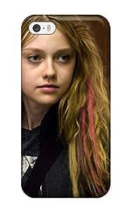 High Grade CaseyKBrown Flexible Tpu Case For Iphone 5/5s - Dakota Fanning In Push