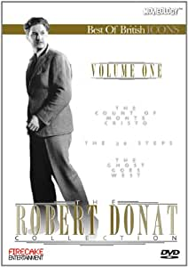 The Robert Donat Collection (The Count Of Monte Cristo / The 39 Steps / The Ghost Goes West)