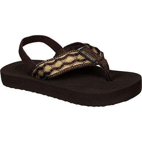 Reef Grom Smoothy Sandal (Infant/Toddler/Little Kid/Big Kid), Brown/Brown, 7/8  US Toddler