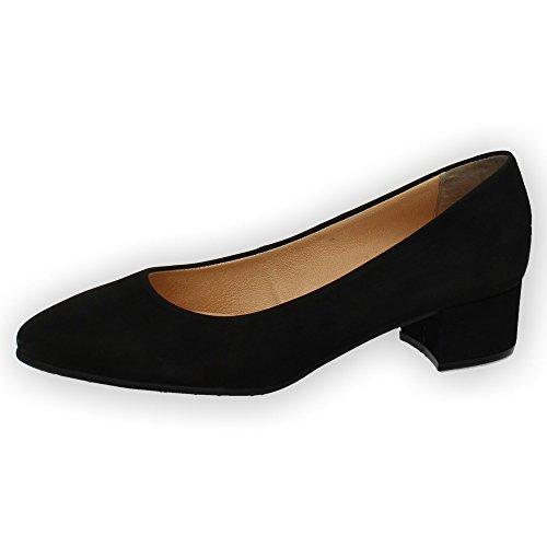 932 Modabella Negro SALÓN Zapatos DE Mujer 11 Manoletinas AAqFw58