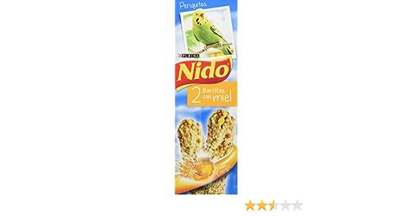 Nido Pajáros Alimentación Complementaria Periquitos, Barritas Con Miel - 45 g: Amazon.es: Amazon Pantry