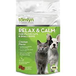 Tomlyn Relax & Calm Chews Small Dog and Cat 30ct