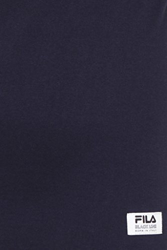 Vintage T Homme Graphic Bleu Fila Line Black shirt Diago d5gHwCqW