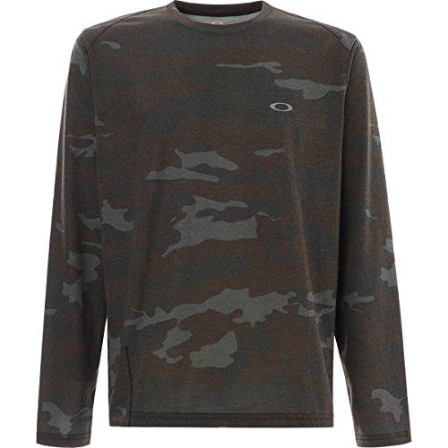 Oakley Men's Link Top Shirts,Small,Blackout ()