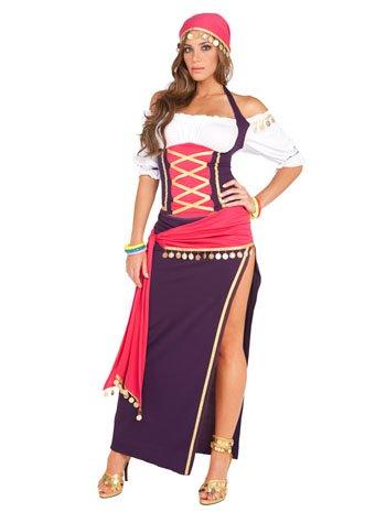 Gypsy Maiden Costume - Medium - Dress Size 6-10