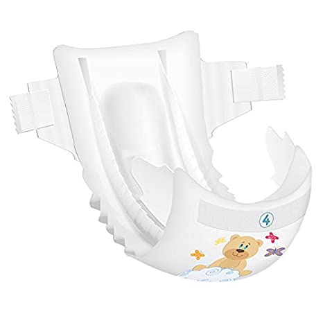 Amazon.com: Beaming Baby Bambo Maxi Nappies Size 4 60s: Health & Personal Care