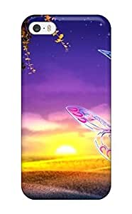 Annie T Crawford Scratch-free Phone Case For Iphone 5/5s- Retail Packaging - Sunset
