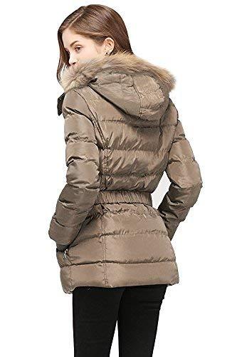 avec Ceinture Doudoune Manteau Warm Hiver Blau Poches Coat Avant Longues Femme A Capuche Veste Manches clair Style Fermeture lgant Moderne Blouson avec Quilting breal 8qdnxzw5