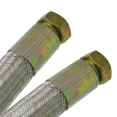 Flexible chauffage central - Flexible chauffage Galva Øintér.25mm - Femelle/Femelle 1' (26/34) - 700mm