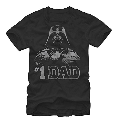Star Wars - Numero Uno Dad Father's Day T-Shirt (XX-Large), Black