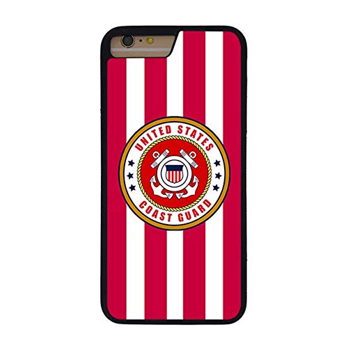 - United States Coast Guard Case Compatible with iPhone 8 Plus,Cool USCGDust - Proof Phone Shell Compatible with iPhone 7 Plus, Plastic Case Compatible with iPhone 7 Plus / 8 Plus