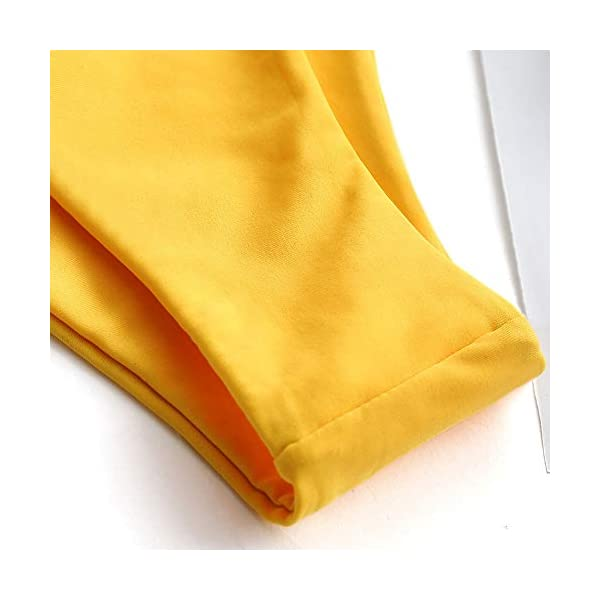 ZAFUL Bikini Set a Fascia Alta da Bonna Costumi da Bagno Imbottito con Cinturino a Moschettone 5 spesavip