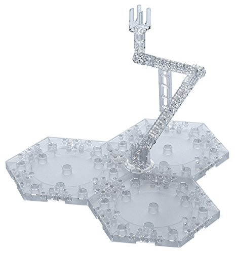 BANDAI SPIRITS Action Base 4 Clear Plastic