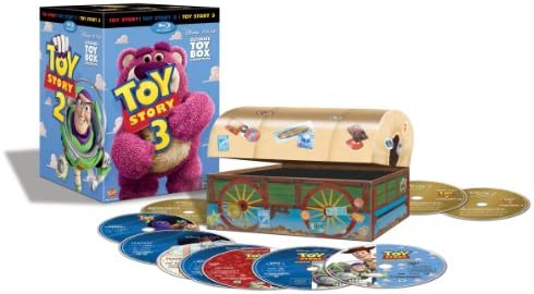 Amazon Com Toy Story Ultimate Toy Box Collection Blu Ray Dvd Combo Digital Copy Tim Allen Tom Hanks Don Rickles Movies Tv