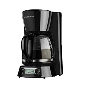 Black And Decker Coffee Maker Cafe Noir : Amazon.com: Black and Decker BCM1411B 220 Volt 240 Volt 50 Hz 12 Cup Coffee Maker ( NOT FOR USA ...