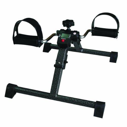 BodyHealt Pedal Exerciser Portable Legs & Arms Workout Pedal Exerciser Provides Superior Physical Workout with Tension Adjustment, Durable Construction with Non Slip Base