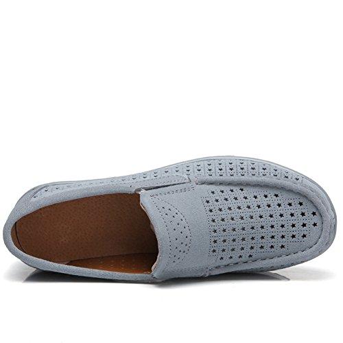 Scarpe Basse Basse Traspiranti Per La Donna Primavera Estate Moda Casual Sneakers Grigio