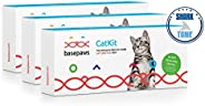 Basepaws Cat DNA Test Kit | Breed + Health Report & Wildcat Index | 18 Cat Breeds & 38 Genetic Markers