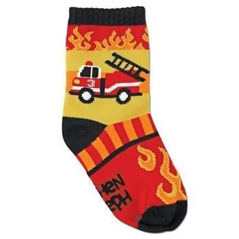 Stephen Joseph - Boys Firetruck Toddler Socks by Billy Band Walton ()