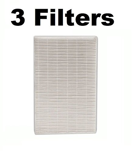 3 REPL FIT Honeywell HPA-090, HPA-100, HPA200, HPA300 Air Filters for Part # - Filter Air Repl Cleaner