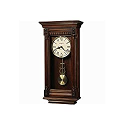 Lewisburg Wall Clock With Tuscany Cherry Finish Tuscany Cherry Dimensions: 13.75W X 5.5D X 27H Weight: 13 Lbs