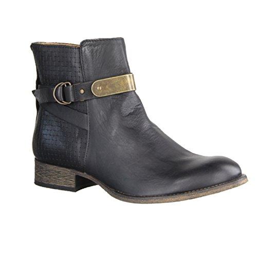 Boots 577300 Women Mid 50 Noir 8 Kickers PUNKING qwA7vqcC