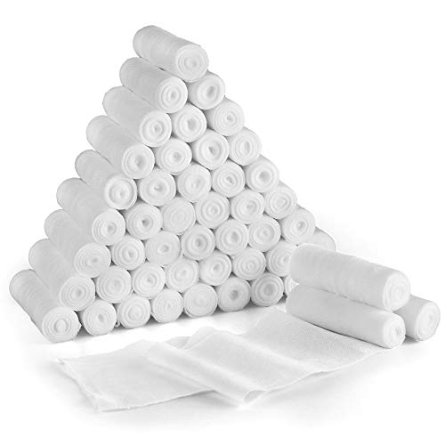 Gauze Bandage Roll, 48-Count Sterile Gauze Wrap, 4
