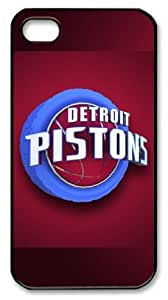 NBA Detroit Pistons Customizable iphone 4/4s Case by icasepersonalized by icecream design