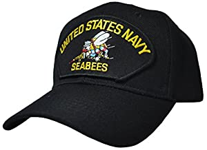 United States Navy Seabees Ball Cap