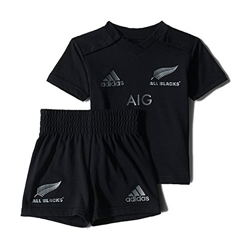 New Zeland All Blacks 2015/16 Rugby Home Mini Kit - Infants - Black