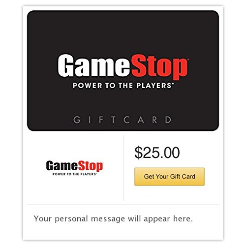 Gamestop Gift Cards - E-mail Delivery (Card Gift 1)