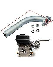 LOSTAR Exhaust Pipe Fits Predator 212cc GX160 GX200 Go Kart & Mini Bikes