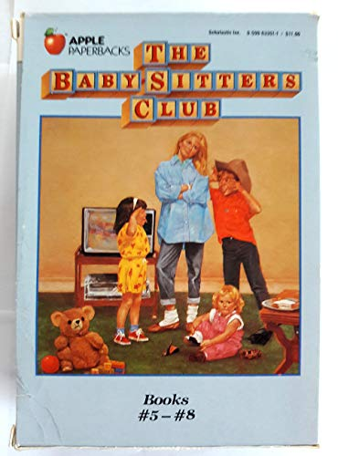 Baby-Sitters Club Boxed Set 2:- Books 5-8 (Paperback) (Babysitters Club Dawn And The Impossible Three)