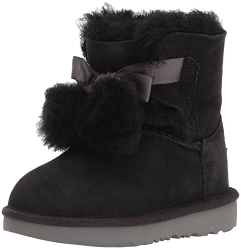 UGG Girls T Gita Pull-on Boot, Black, 10 M US Toddler by UGG