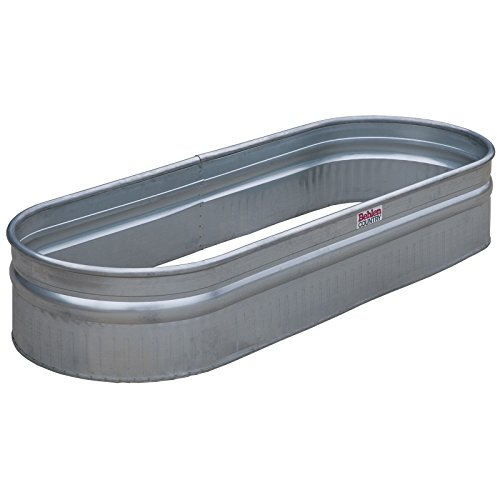 Behlen Country 50601378 216 Bottomless Galvanized Round End Planter