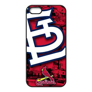 St. Louis Cardinals Fashion Comstom Plastic case cover For Iphone 5s