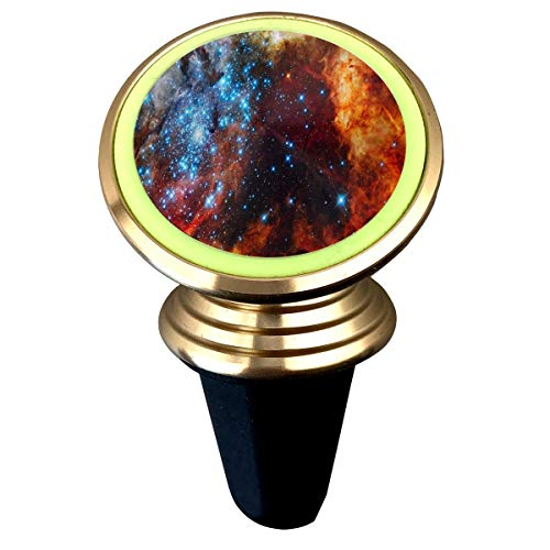 Magnetic Phone Holder Outer Space Stars Beauty 360 Degree Rotation Universal Car Mount Cell Phone Stand for Phone X/6/6s/7/8/8 Plus/7, Galaxy S9/S9 ()