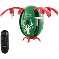 JJRC H66 X-mas Egg 720P WIFI FPV Selfie Drone with Gravity Sensor Altitude Hold Mode RC Quadcopter RTF - Green